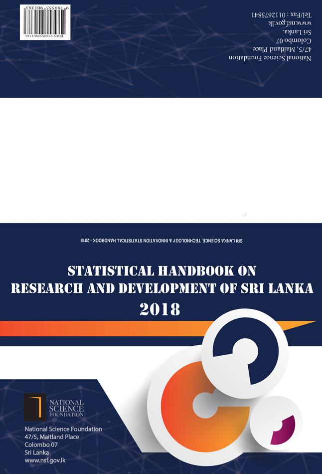 Statistical Handbook 2018 NATIONAL RESEARCH & DEVELOPMENT SURVEY 2018