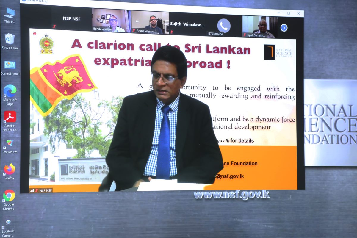 Second webinar on digital platform held with enthusiastic participation of Sri Lankan expatriates in America